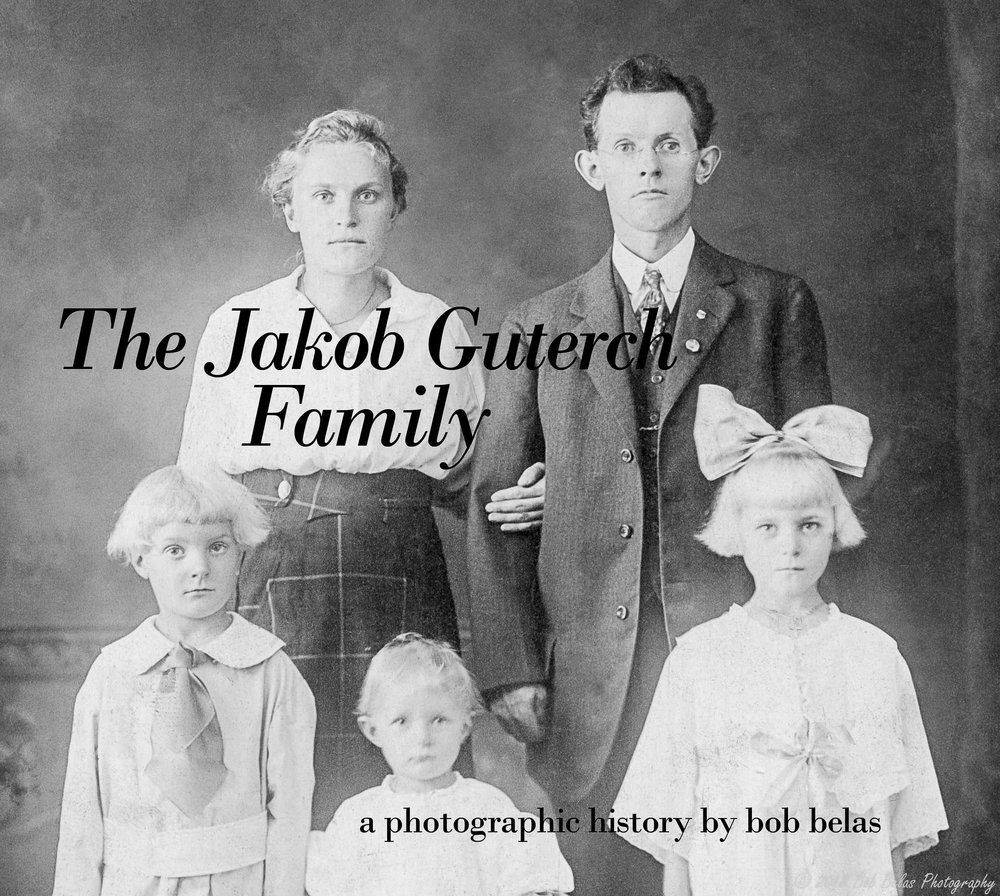 """The Jakob Guterch Family"" cover photo, b/w"