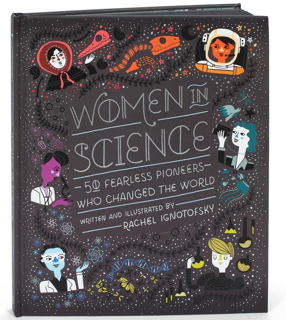 women in science rachel ignotofsky design