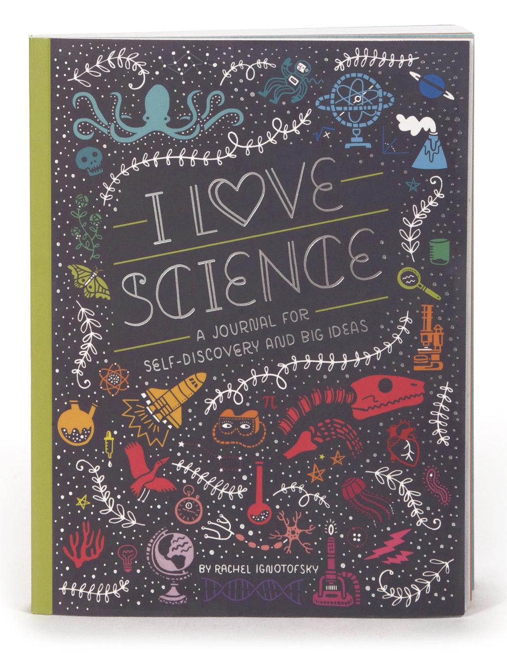 i love science rachel ignotofsky design