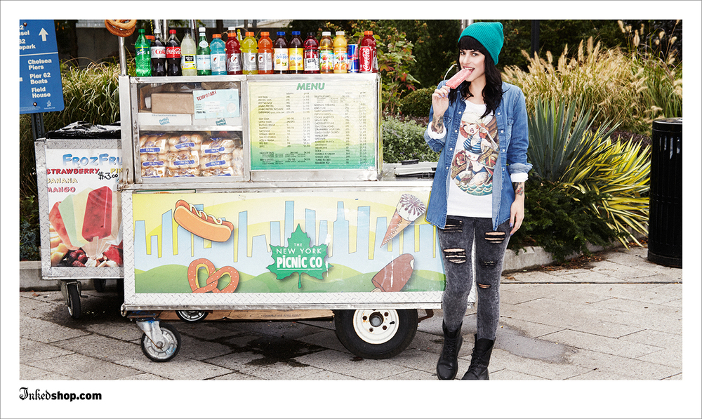 Creative direction & design for 2014 InkedShop campaign