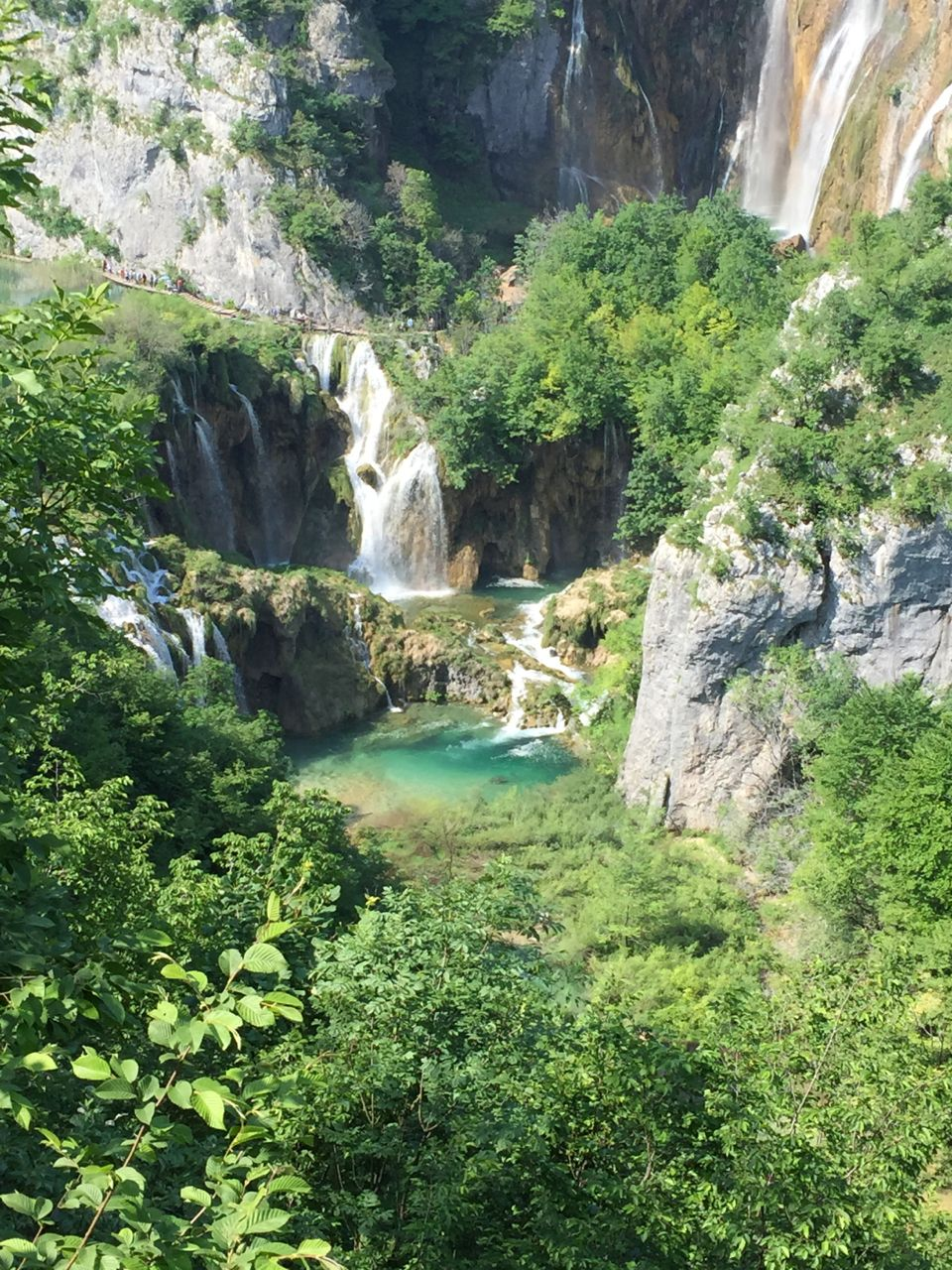 The famous Plitvice National Park draws more than a million visitors a year.