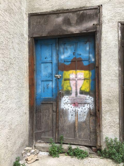 A sample of treet art in Zagreb