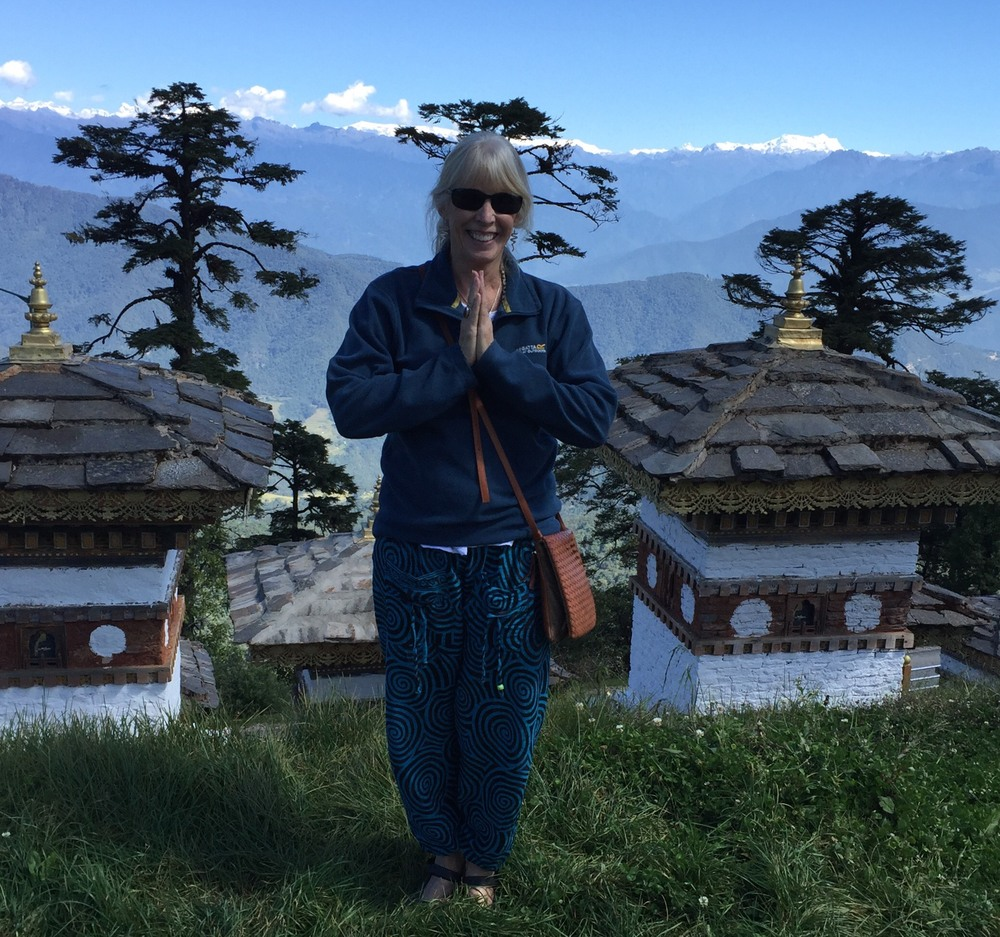 Namaste from Docula Pass, Bhutan.