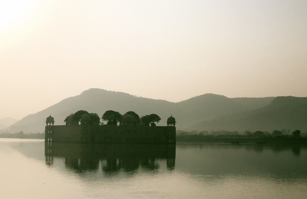 The Water Palace, Jaipur at sunrise.