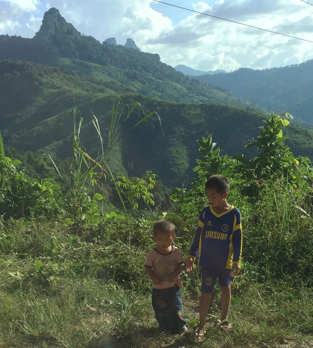 Children in the rural areas of Laos are subject to the threat of unexploded ordnance left over from the Vietnam War.