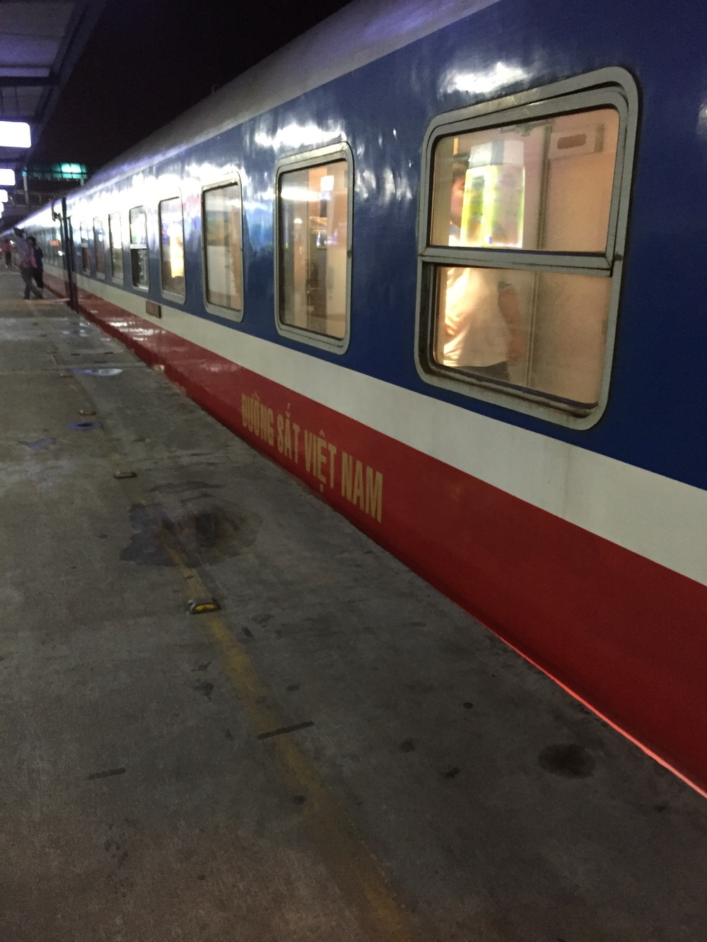 We traveled overnight on very basic train from Hanoi to the city of Hue.