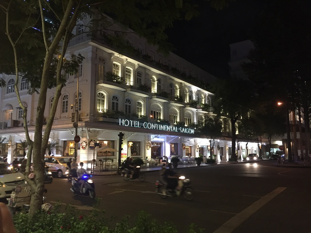 During the Vietnam War, the Hotel Continental Saigon (then called the Continental Palace) was news central for American journalists from publications like Newsweek and magazines whose news bureaus were located there.