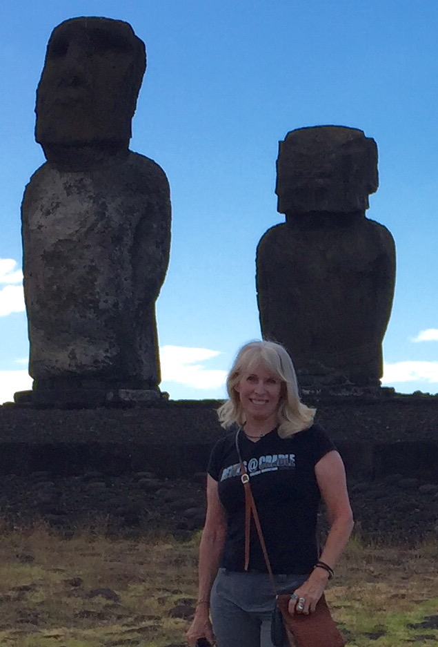 This is me standing in front of the Moia.