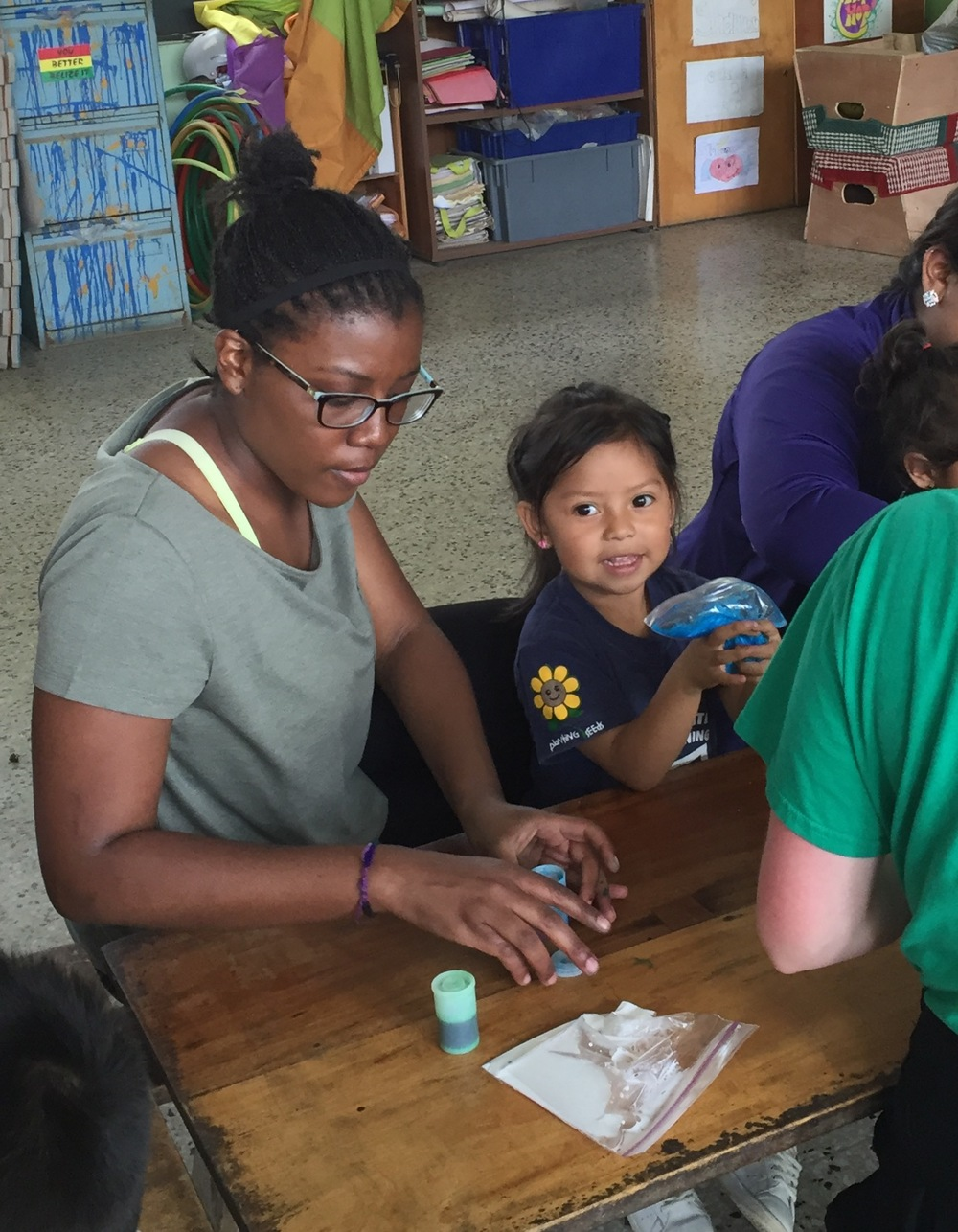 Volunteers from colleges and universities around the world come to Guatemala City to teach and assist at the Safe Passage School in Zone 3.