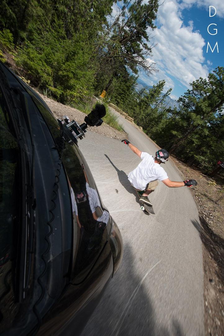 James Kelly rides the Giant. Photo: Jonah Rosenberg