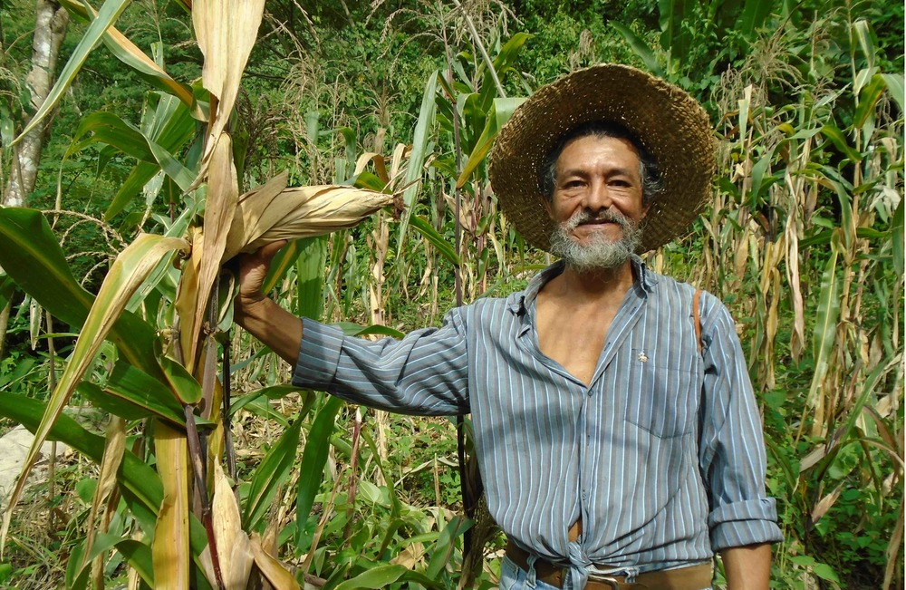 Joaquín Reyes on his farm - photo by Mariano Navarro