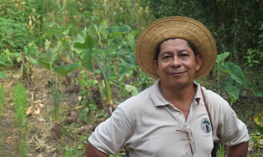 Mariano Navarro started working as a Field Trainer with Sustainable Harvest International in 2010 - photo by Michele Christle
