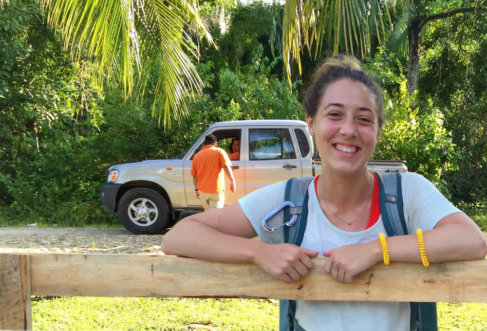 Cassandra Johnson recently visited our Belize program as part of her study of engineering at Northeastern University.