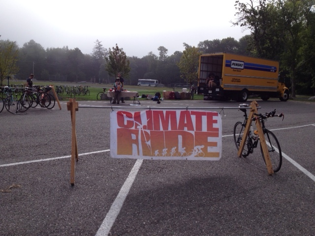 The 390-mile bike ride for Climate Ride Northeast started in Bar Harbor, Maine, just outside Acadia National Park and near Sustainable Harvest International's US headquarters. - Photo by Susannah Fisher