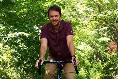 Elliott Powell joins Northeast Climate Ride