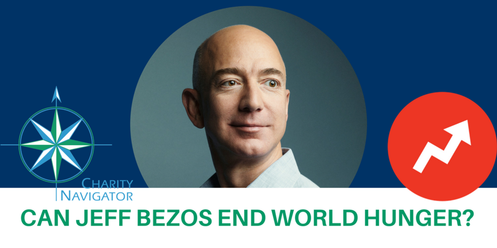 Can Jeff Bezos End World Hunger?