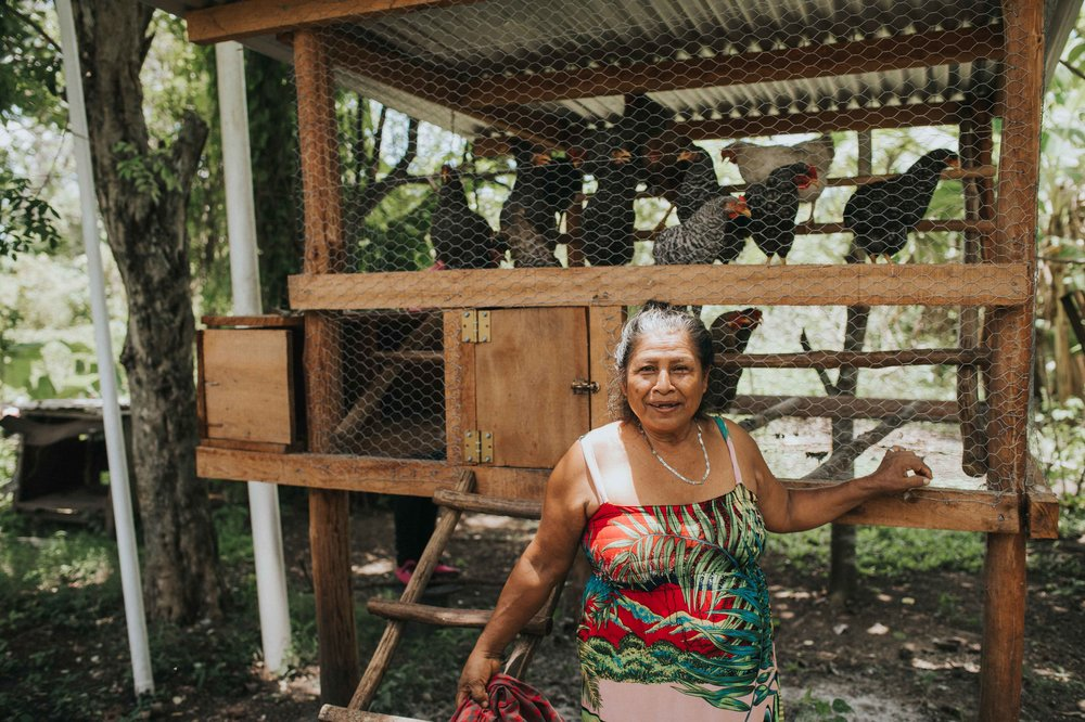 With the modest profits Josefa makes through regenerative agriculture, Josefa plans to improve her crowded home and educate her beloved family. Photo by Salt to Clay Photography