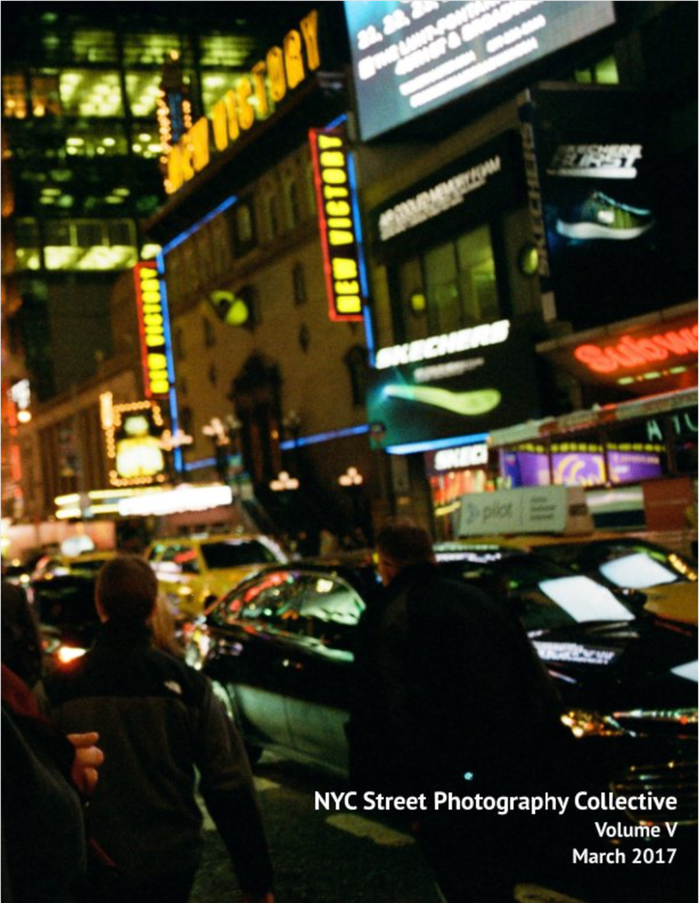 NYCSPC Volume V    NYCSPC Volume V Zine. Includes images from 16 New York City street photographers.  US Letter, 8.5×11 in, 22×28 cm 56 Pages