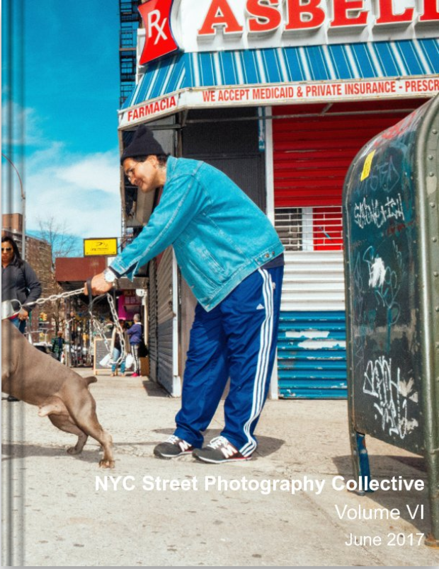 NYCSPC Volume VI    NYCSPC Volume VI Zine includes 240 images from 21 New York City street photographers.   Size  US Letter, 8.5×11 in, 22×28 cm 72 Pages