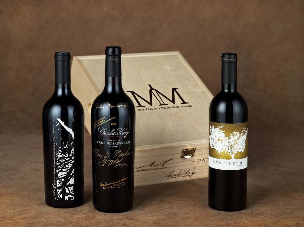 Logo and Packaging for Morton's and Mondavi