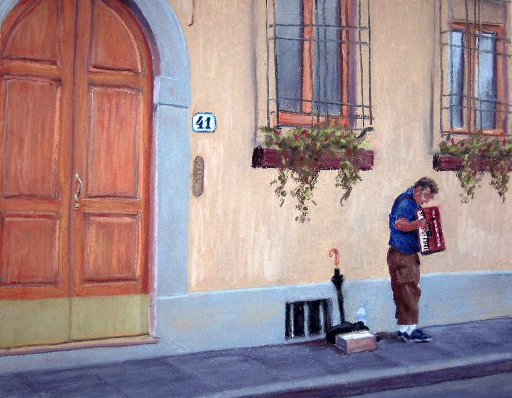 A Man and His Accordion, 2007