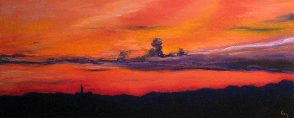 Sunset Over Bankston, 2007
