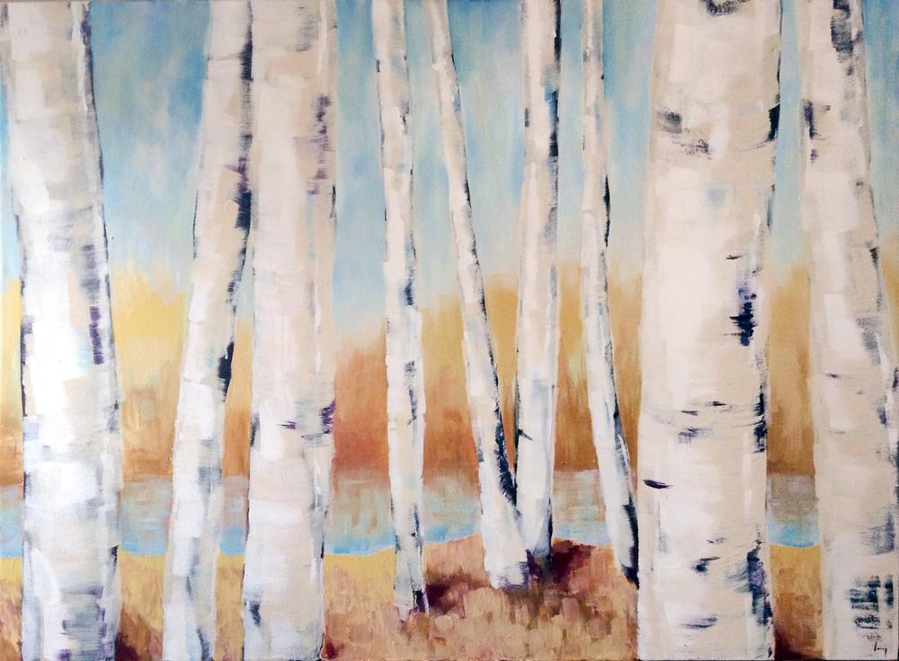 Birch Trees, 2014