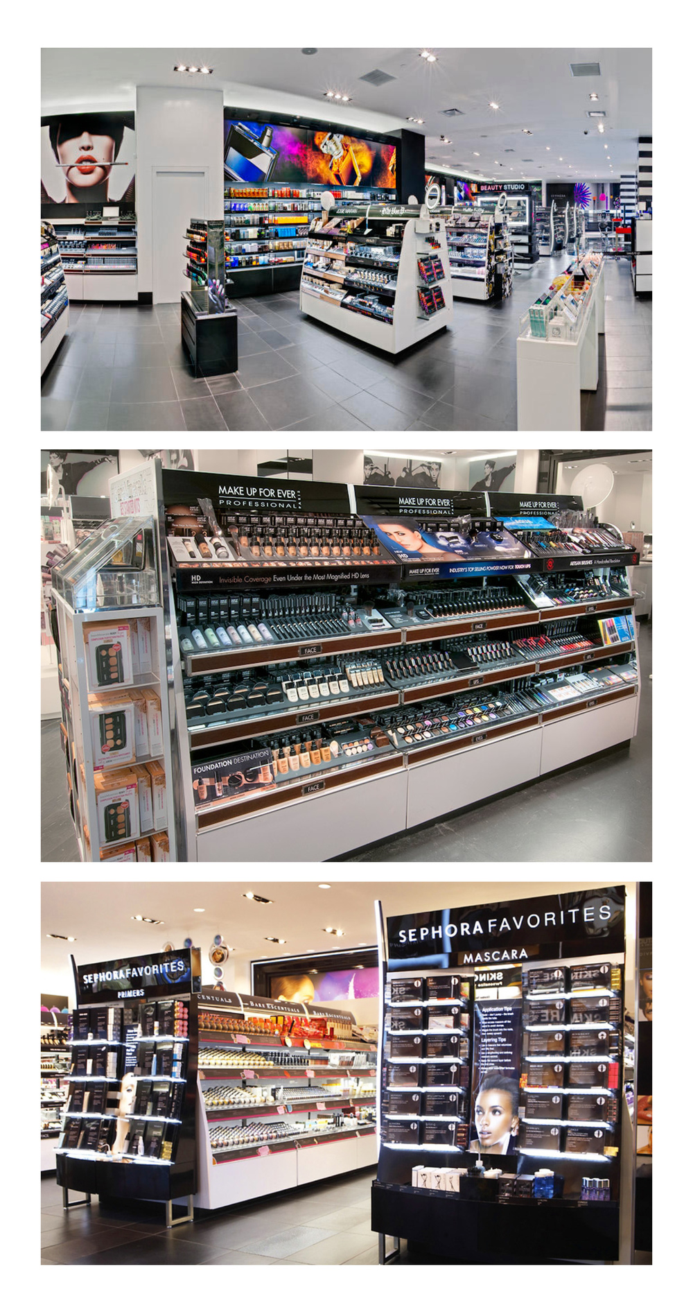 Graphics for Sephora