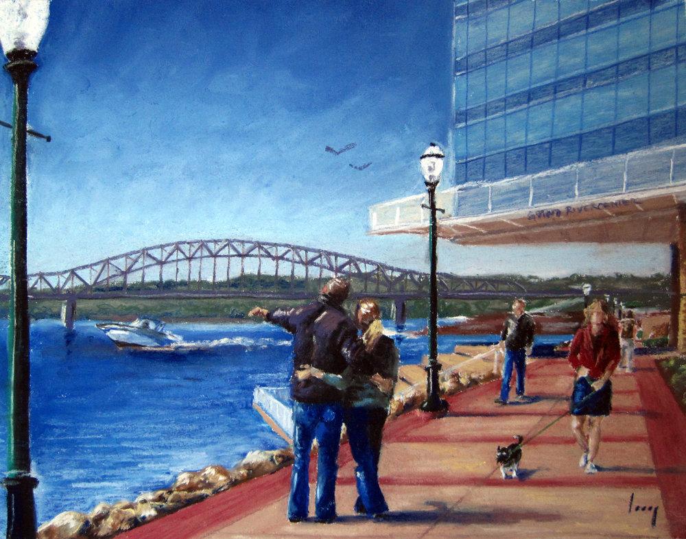 Riverwalk Promenade, 2009