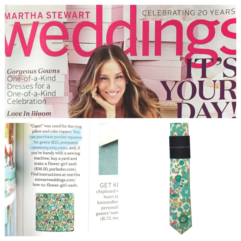 MARTHA STEWART WEDDING SUMMER 2015