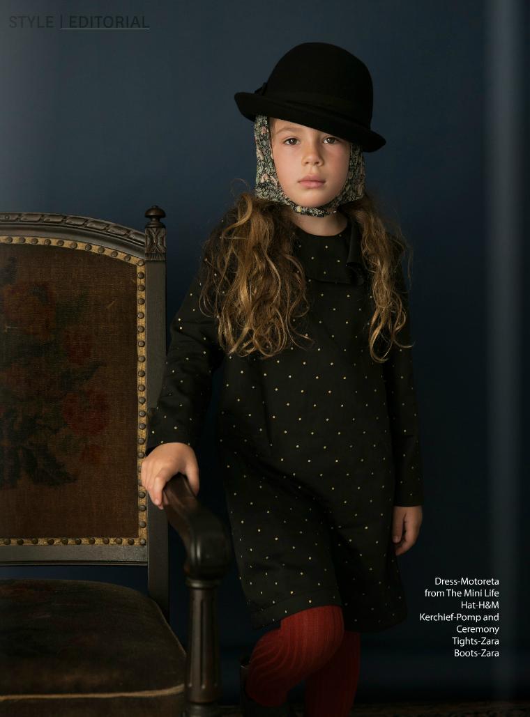 Pomp & Ceremony Kerchief, style editorial Binky magazine, Nov. 2015