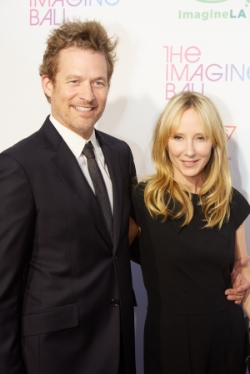 Imagine LA Ambassadors actors James Tupper and Anne Heche.