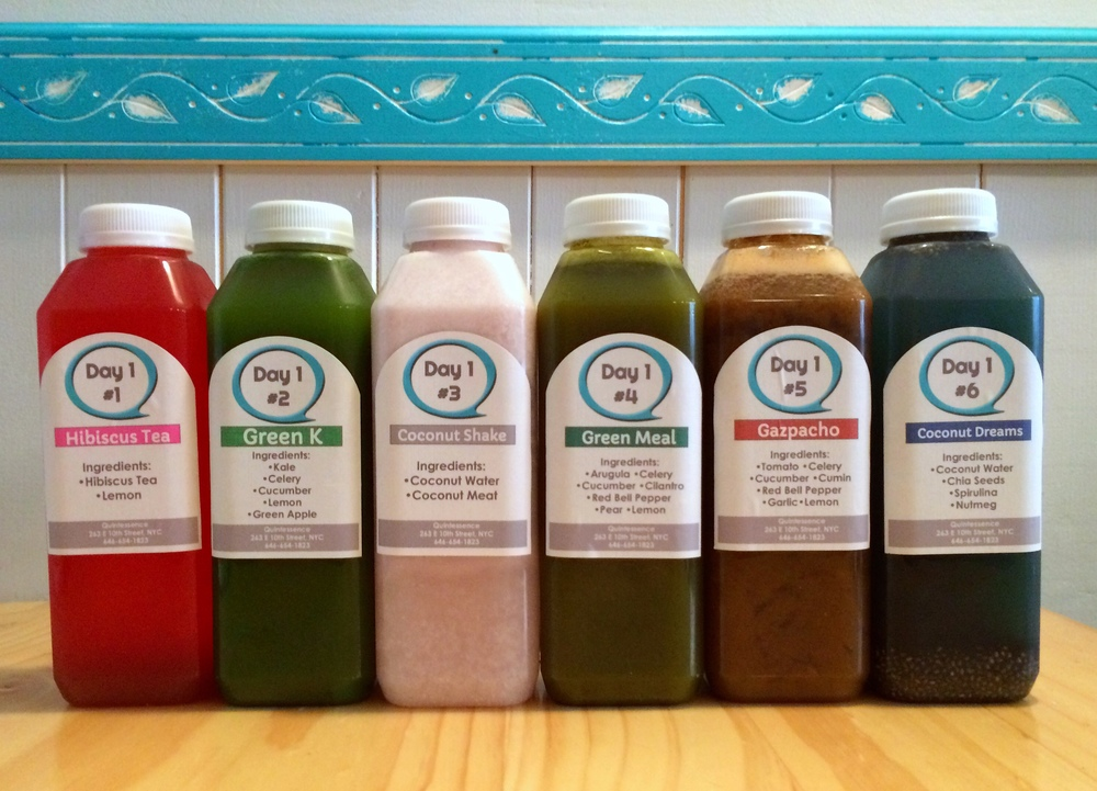 Quintessence NYC Juice Cleanse