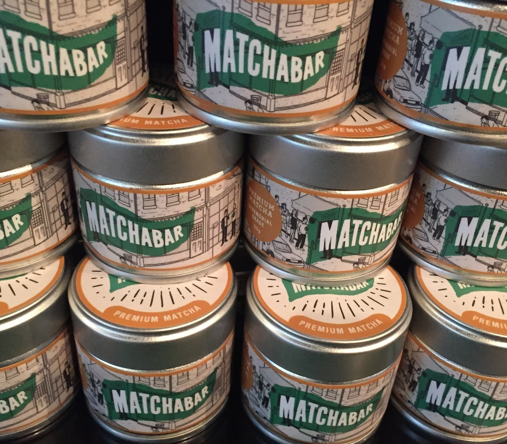 MatchaBar tins to make yours at home.