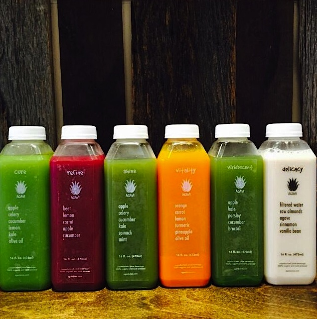 Cold-pressed juice, Agavi Juice