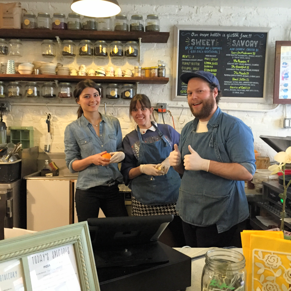 Julia and the team @ Little Choc Apothecary