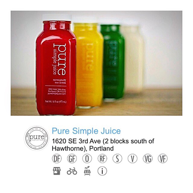 Pure Simple Juice on Treatmo.
