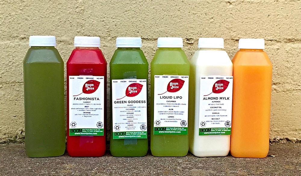 Boom Juice Glow Cleanse - 6 organic juices