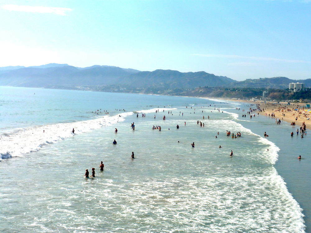 Santa Monica State Beach - Only six blocks from The Hive