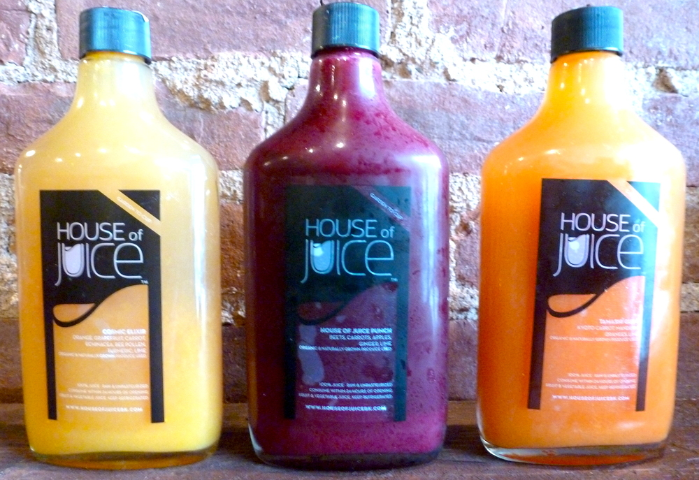 Cosmic Elixer, House of Juice Punch, and Tamasi Guro