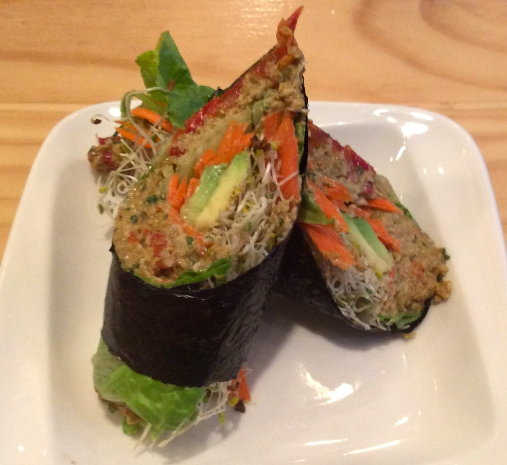 Nori Roll at Quintessence in the East Village