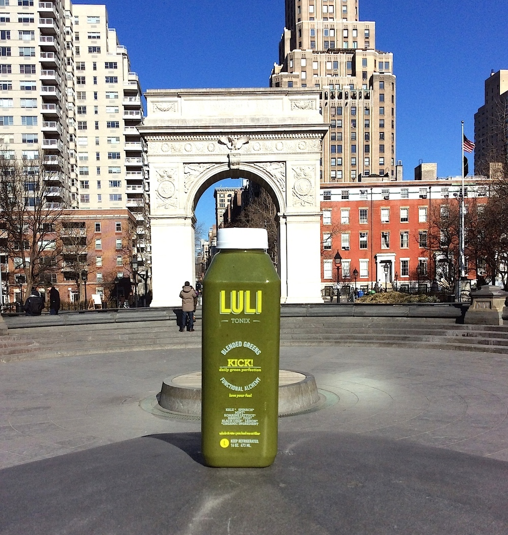 Lulitonix near Washington Square Park in Manhattan