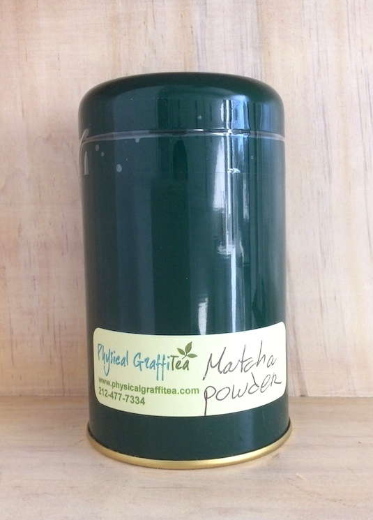 Matcha tea canister from Physical GraffiTea (2 ounces)