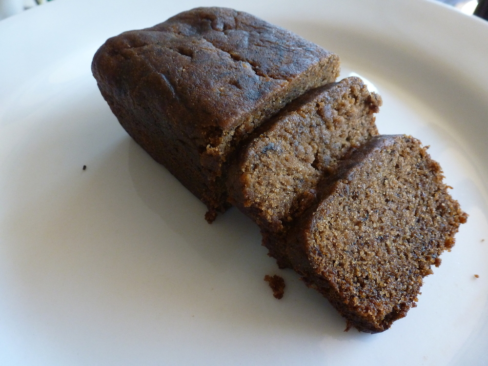Mini Banana Bread Loaf from No Glutes About It