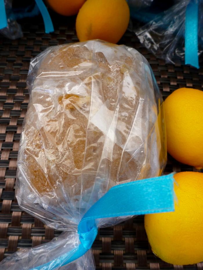 Lemon Bread Mini Loaf - No Glutes About It