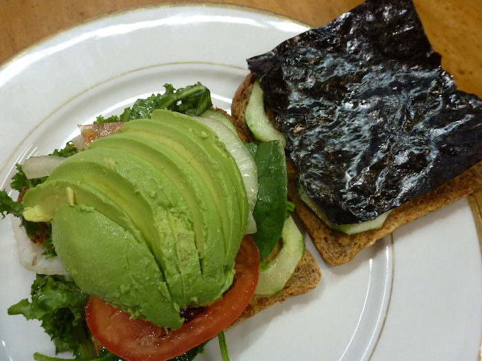 Avocado Sandwich at Fuel Juice Bar (click image to order in Treatmo on iPhone)