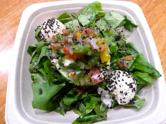 Avocado Pico de Gallo Salad at Fuel Juice Bar (click image to order in Treatmo on iPhone)