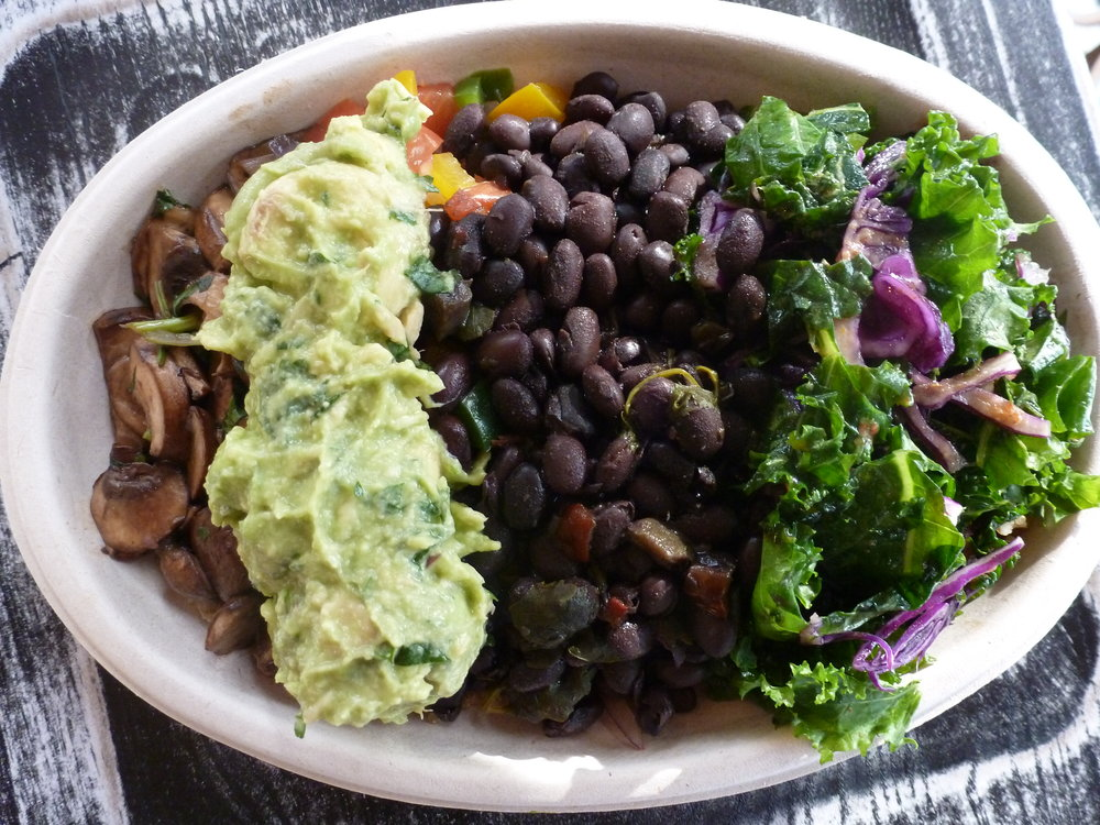 Order in a tap on  Treatmo  and earn points for purchases. Forbidden Marinated Mushroom superfood bowl from Fuel Juice Bar - Brooklyn NY
