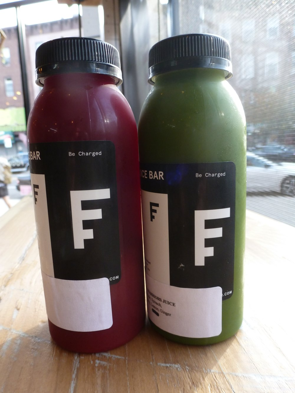 Juice to charge you up from Fuel Juice Bar