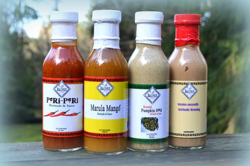 Lesedi Farm sauces including Peri-Peri sauce on Treatmo